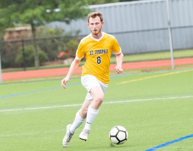 Men's Soccer Falls to USMMA in Skyline Championship First Round