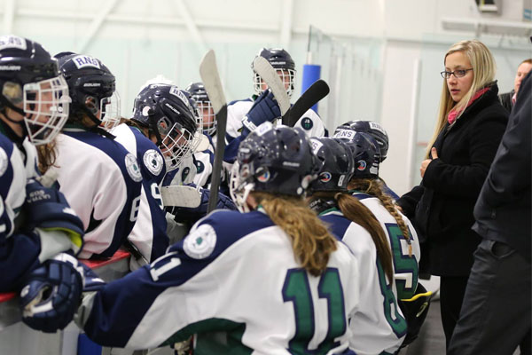 Keeping Up With The Tommies: Kayla Blackmore, Women's Hockey (2008-13)
