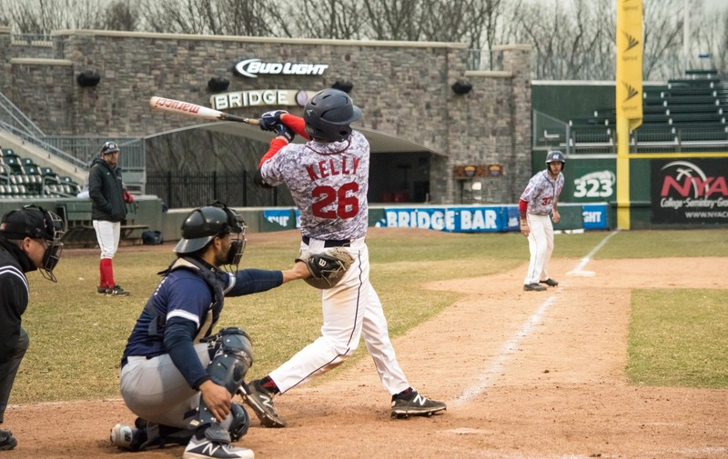 Baseball Earns Split with Conference Rivals Dominican Chargers