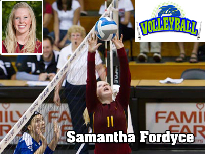 Samantha Fordyce Earns GLIAC Volleyball Weekly Honor