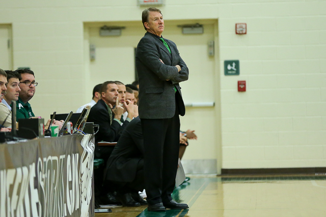 Head Coach Cliff Hunt (Photo by Ryan Baker/Baker Media Productions)