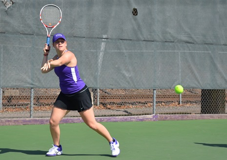 Senior Devon Cohen posted victories in singles and doubles in Scranton's 5-0 win over LaRoche College in an NCAA Tournament first-round match on Friday morning.