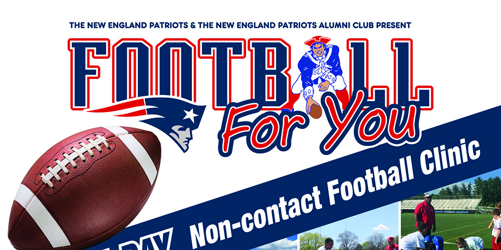 Husson Set to Host Patriots Football for You Free Clinic