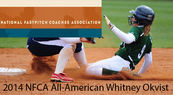 Okvist Earns Second NFCA All-America Nod