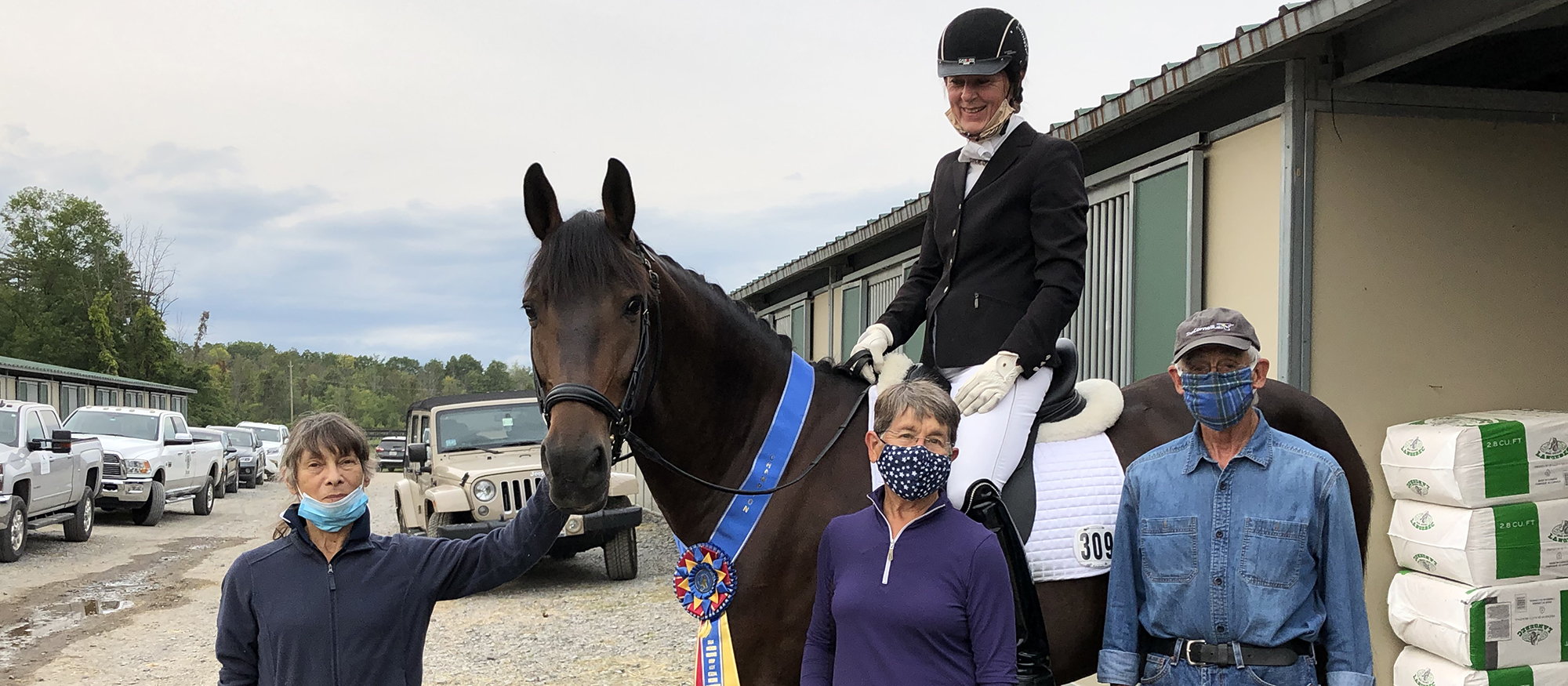 Jutta Lee Claims First-Place Finish at GAIG/USDF Region 8 Dressage Championships