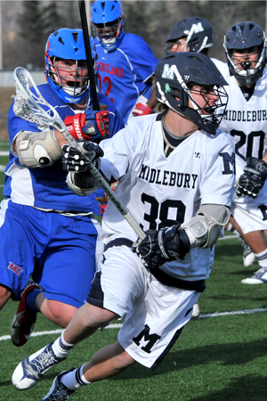 Men's Lacrosse Loses Season Opener To Fifth-Ranked Tufts