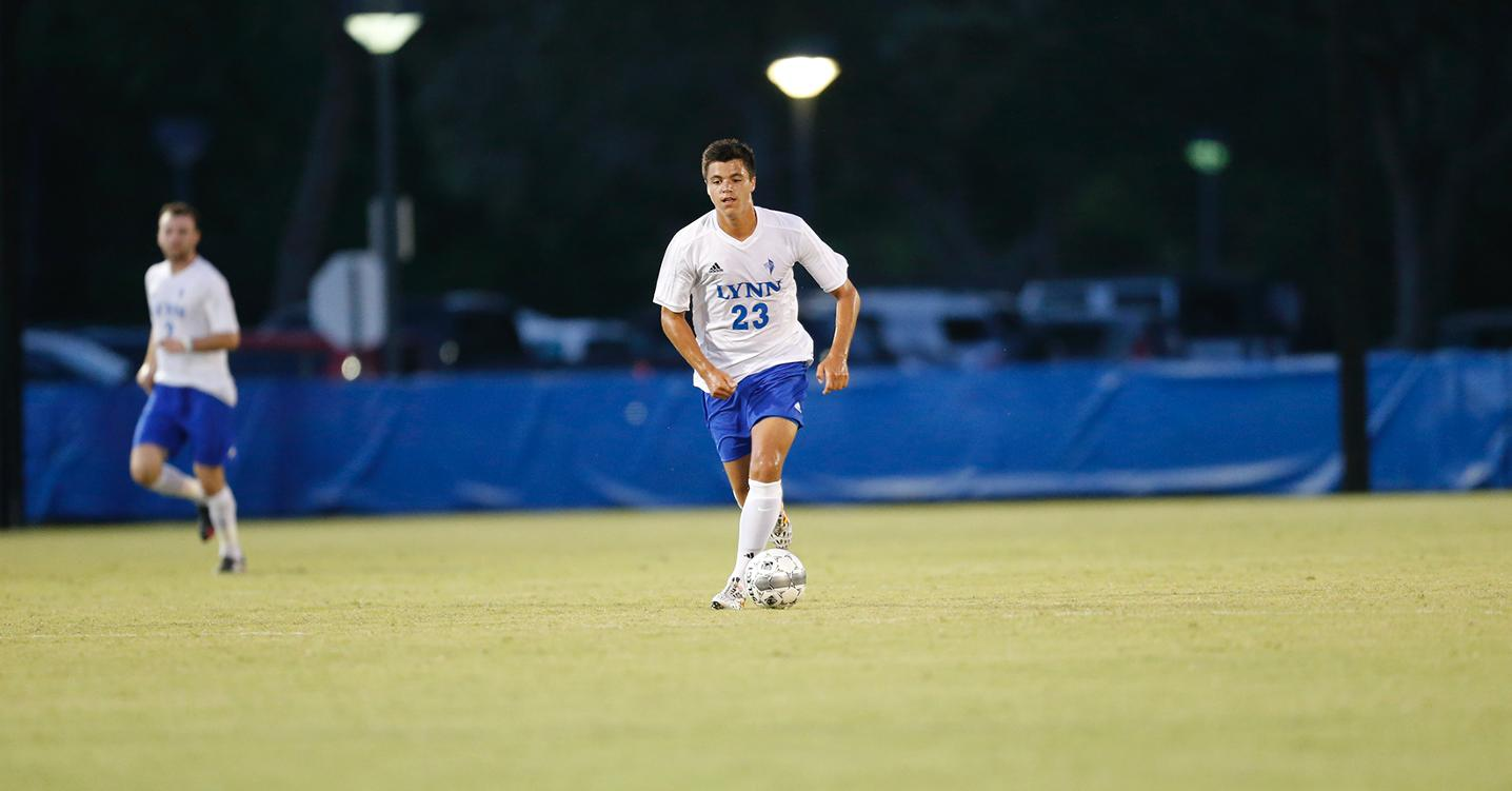 Men's Soccer Sees Yellow in Victory over Bucs