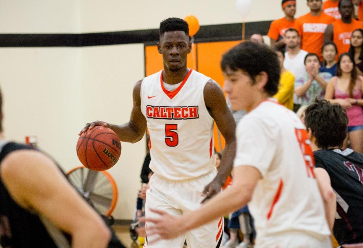Emezie Closes Superb Career as Men's Basketball Falls at Pomona-Pitzer
