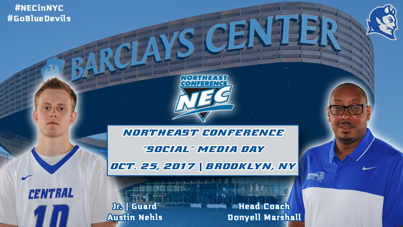 "Nehls to Represent Men's Basketball at NEC ""Social"" Media Day"