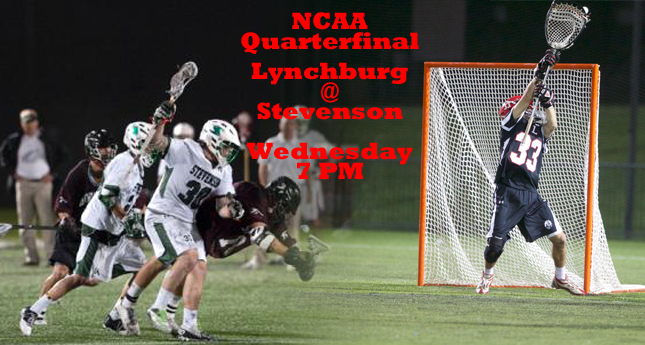 Lynchburg Headed to Stevenson on Wednesday in NCAA Quarterfinals