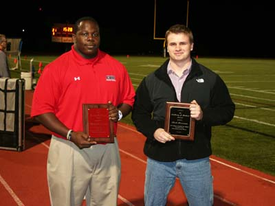 Pair of football alums honored with Bottoni and McManes awards