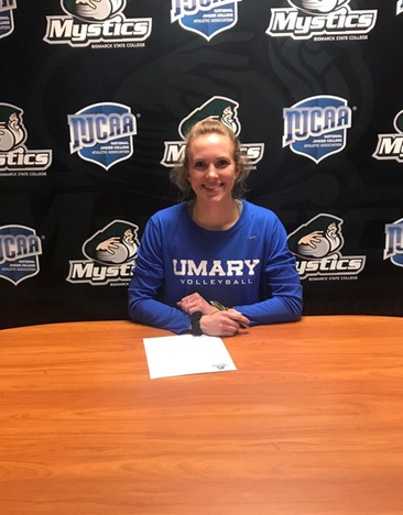 Jessie Oja to Play Volleyball at University of Mary Next Season