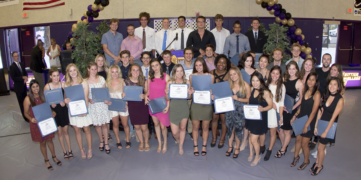 Athletics caps off 2016-17 with Purple & Gold All-Sports Awards Banquet