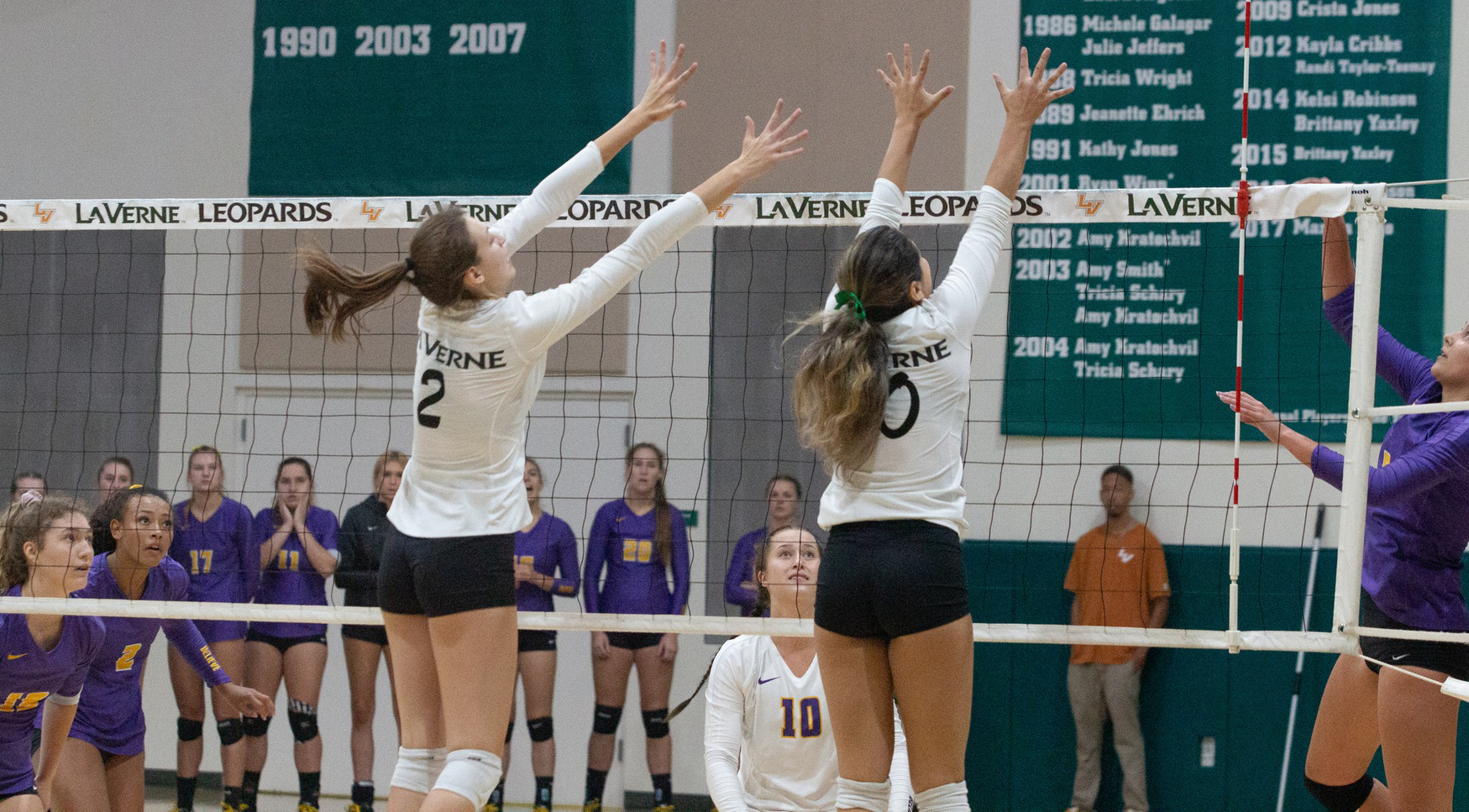 Volleyball falls to Chapman