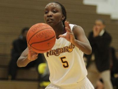 Janelle Junior led the Firebirds with game-highs of 18 points and five assists.