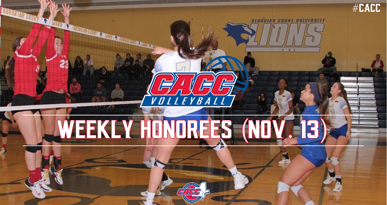 CACC Volleyball Weekly Honorees (Nov. 13)