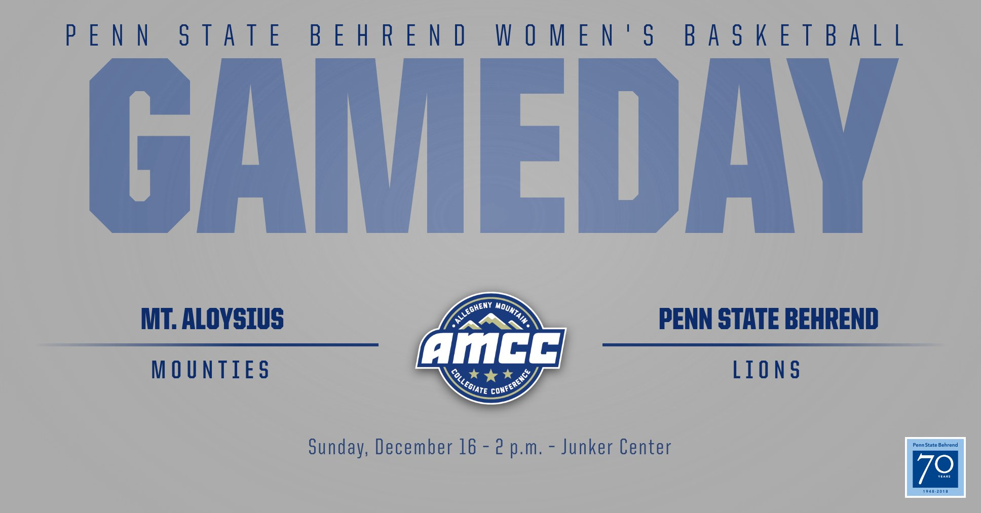 Behrend Lions Host Mounites in AMCC Action on Sunday