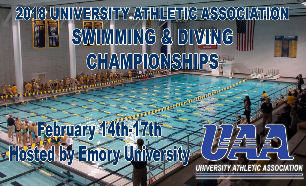 Emory University to Host 2018 UAA Swimming & Diving Championships