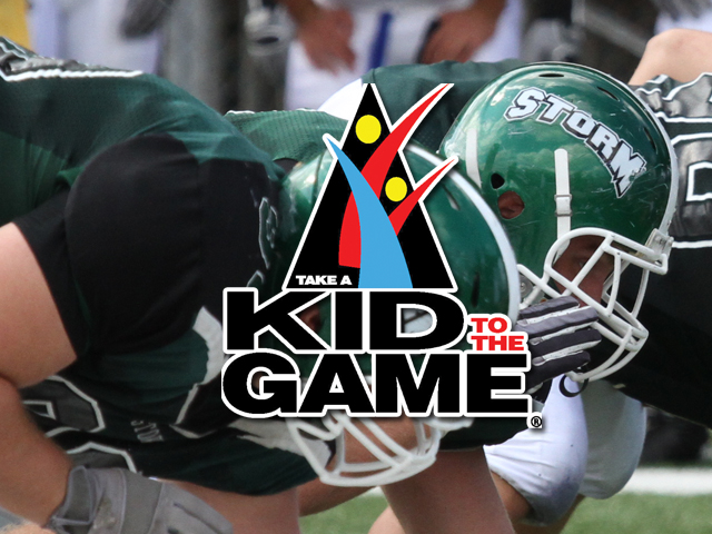 Storm Football to Host Youth Day/Take a Kid to the Game Saturday vs. Findlay