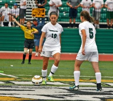 Appel's Late Goal Lifts Rams over St. Joe's