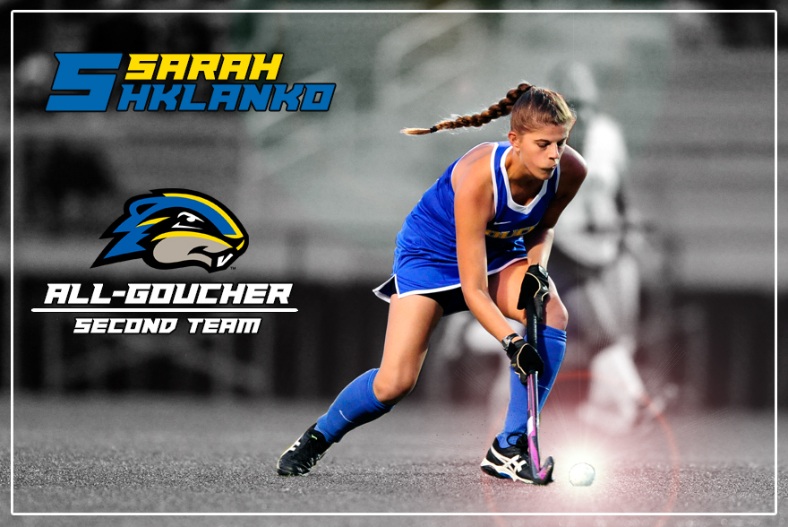 Shklanko Earns All-Goucher Second Team Designation