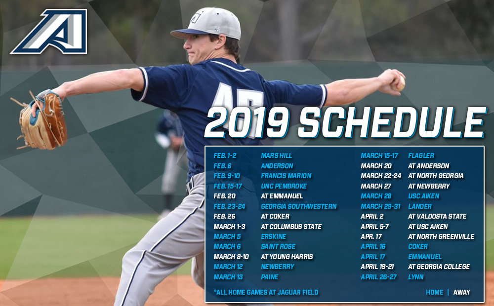 Augusta Baseball Returns Home For 2019 Schedule