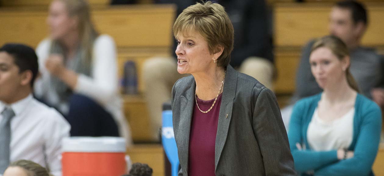 Women's Basketball Defeats Wellesley, 51-29; Graves Earns 400th Win at Springfield College