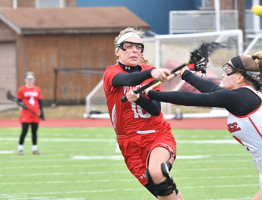 Women's Lacrosse Takes Down Carthage In Return Home