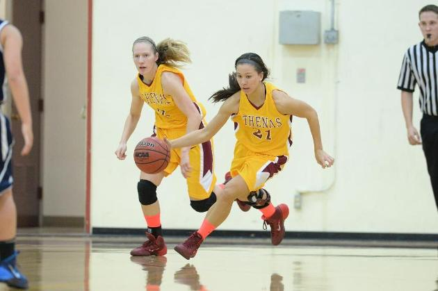 Athenas turn the heat up in second half to beat La Verne