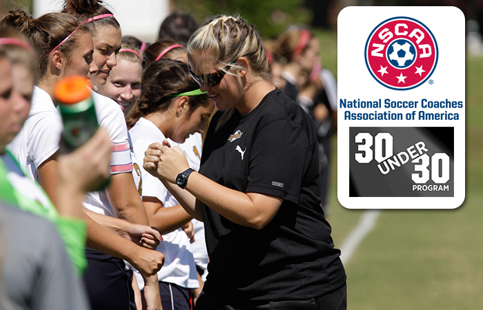 Snow Pegged As Profession's Next Generation Through NSCAA 30 Under 30 Program