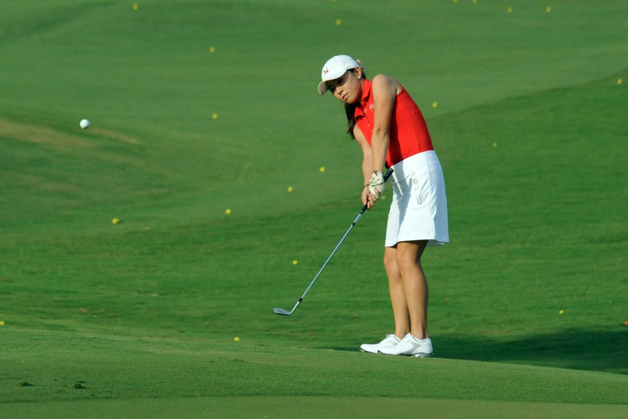Lady Hawks close BSC Shootout with best round in program history