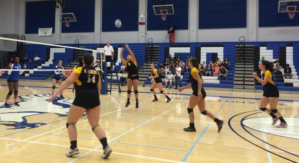 COM Volleyball Evens Conference Record With 3-0 Win Over Mendocino