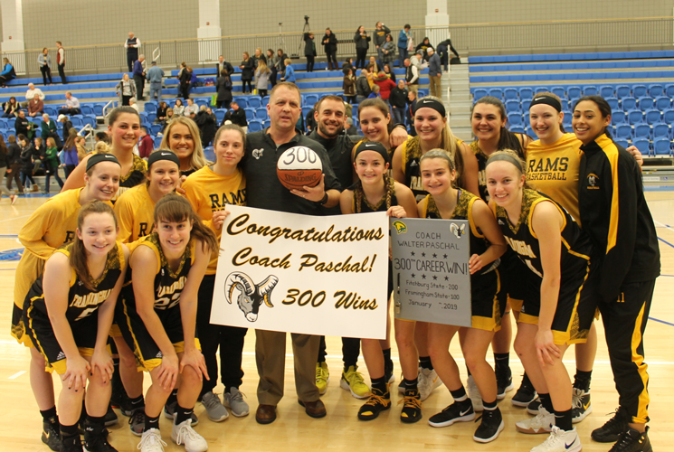 Paschal Earns 300th Career Victory as Women's Basketball Holds Off Worcester; 62-59