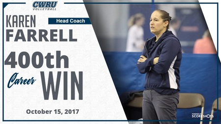 Head Coach Karen Farrell Wins 400th Career Game as Spartans Split on Day 2 to Conclude UAA Round Robin #2