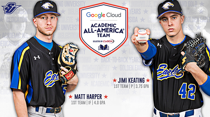 Golden Eagles Pair Named Academic All-America