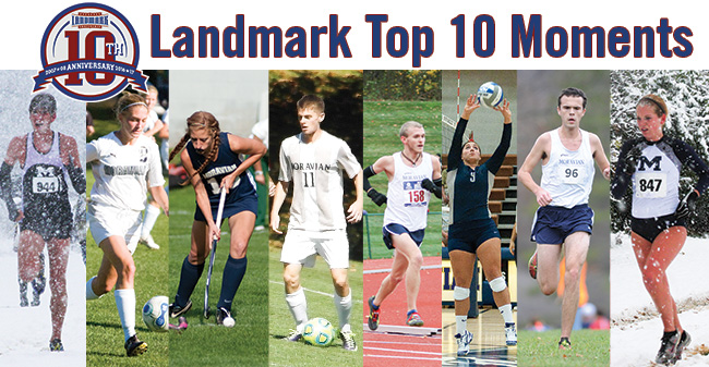 Vote for the Landmark Conference Fall Sports Top Moments