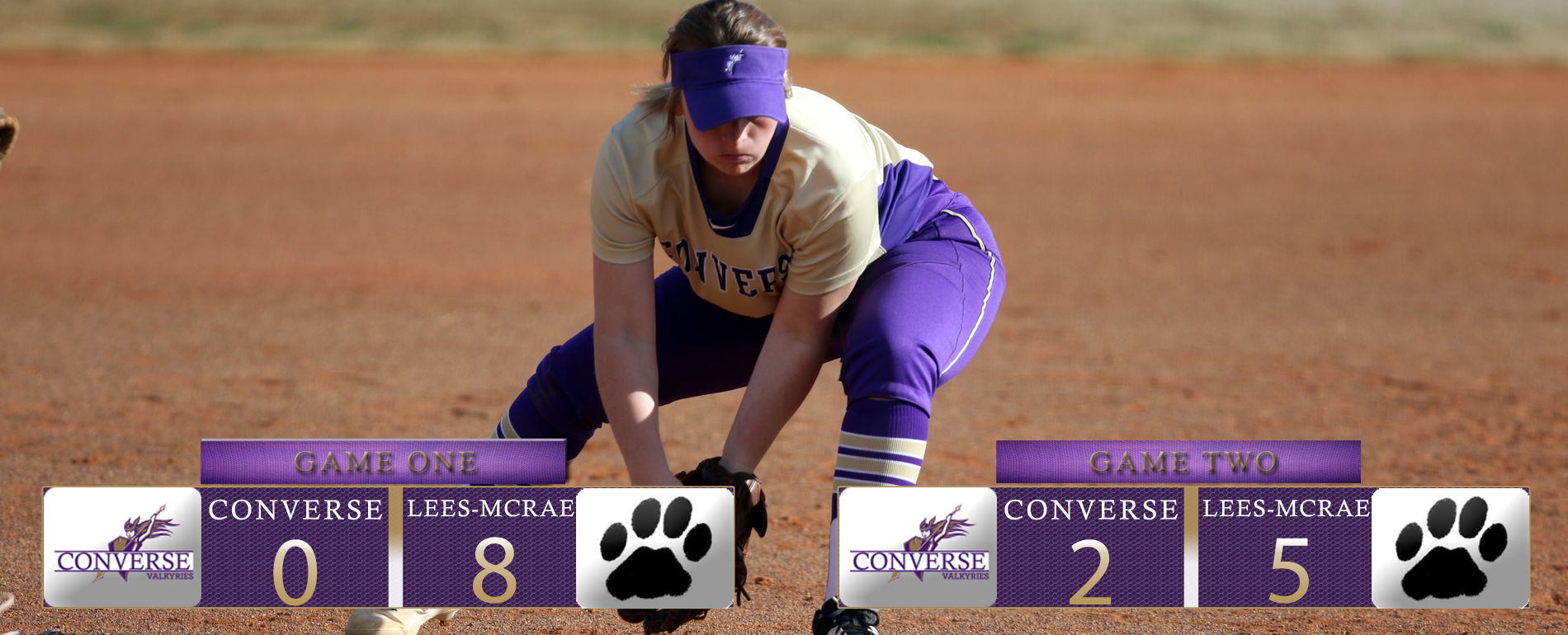 Softball Ends Season With Two Losses at Lees McRae