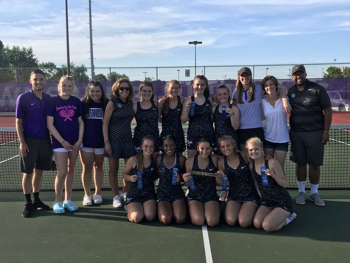 Girls Tennis Nets First Regional Title with 3-2 Win Over Park Tudor.