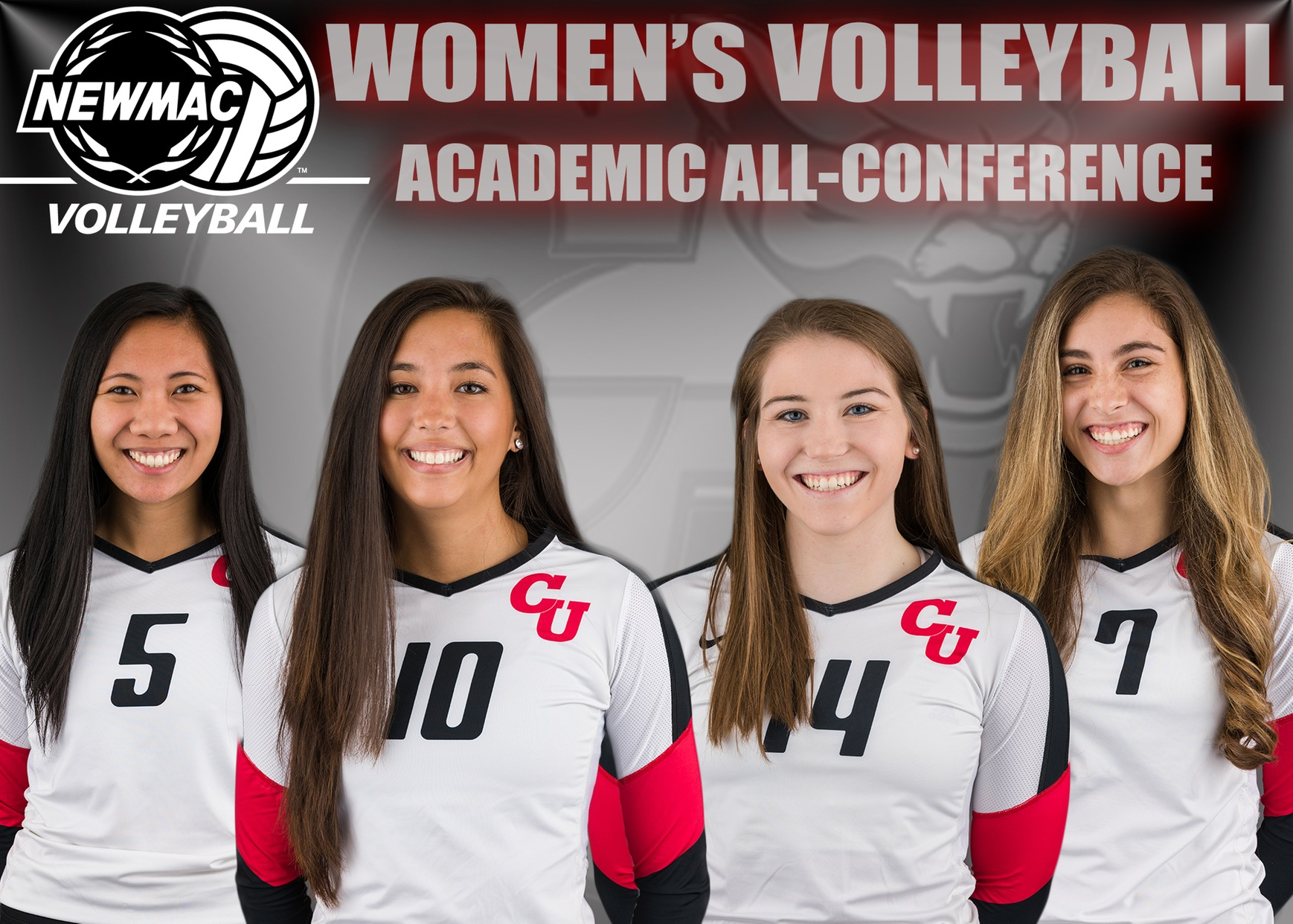 Volleyball Places Four on Academic All-Conference Team