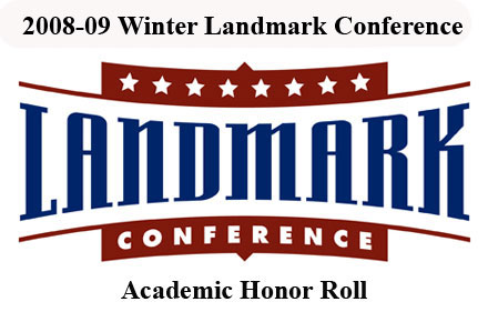 Landmark Issues 2008-09 Winter Academic Honor Roll