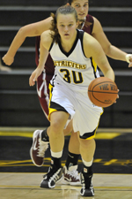 Erin Brown led the Retrievers with 16 points.