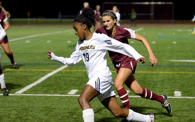 Women's Soccer scores four in win over Bryn Mawr