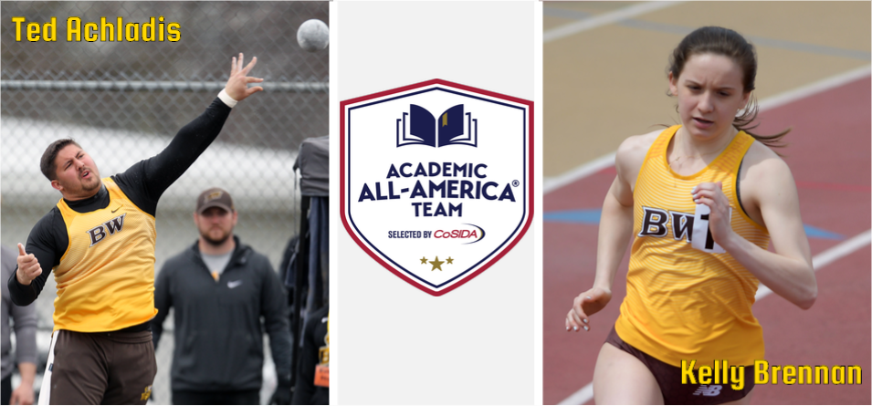 Achladis and Brennan Named CoSIDA Cross Country and Track and Field Academic All-Americans