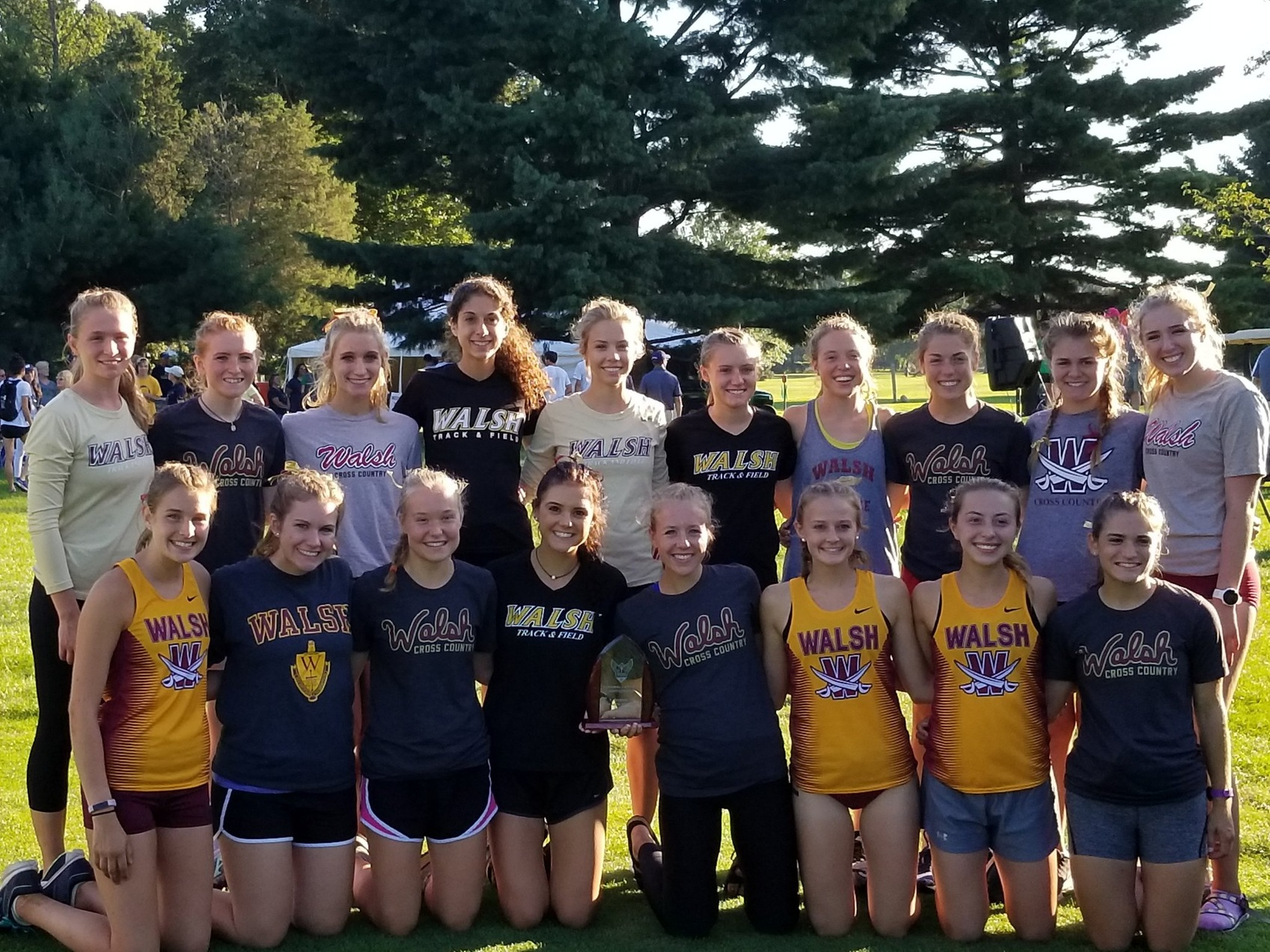 No. 13 Women Breeze to First In National Catholic Meet