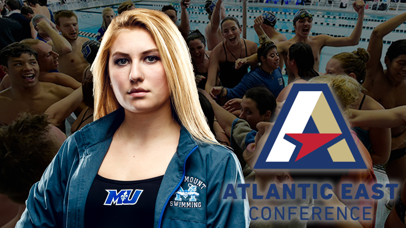 Elizondo named Atlantic East Women's Swimmer of the Week for the third time this season
