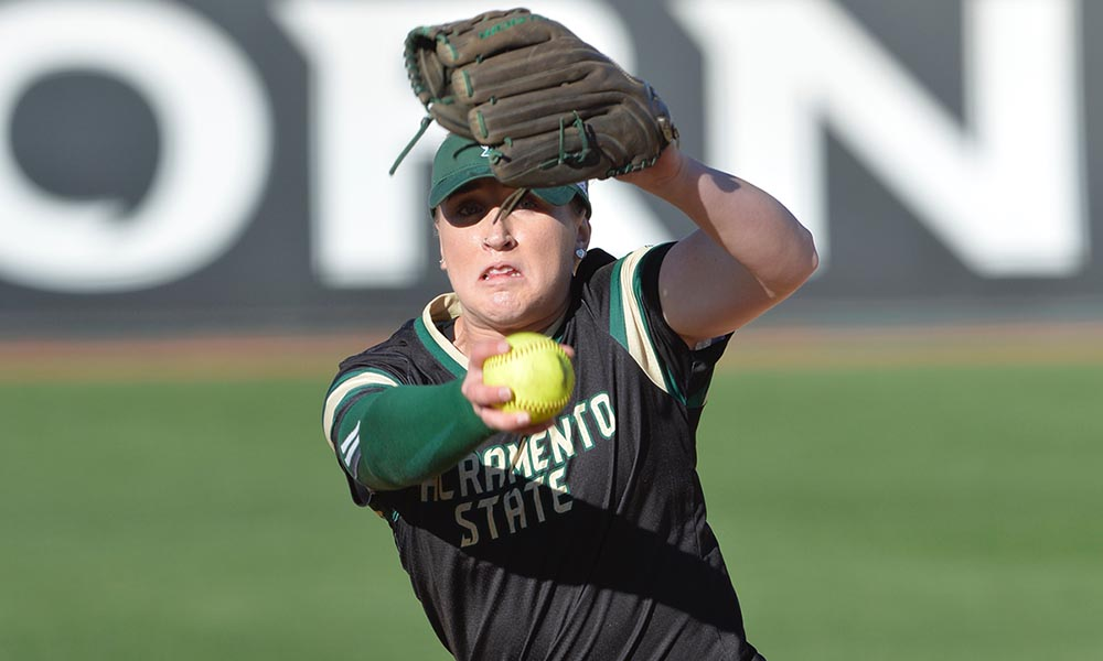 CORR'S GEM NEARLY KNOCKS OFF CAL, BUT SOFTBALL DROPS A PAIR ON FINAL DAY OF TOURNAMENT