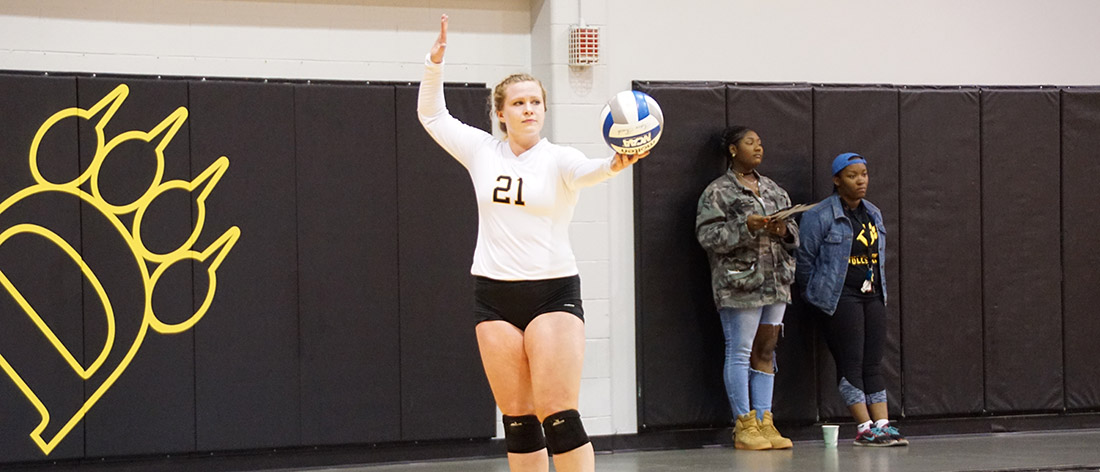 Middle Set Heroics Not Enough As Volleyball Falls To Malone