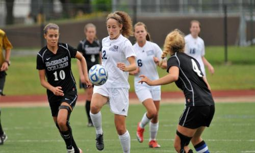 Women's Soccer Fall 5-1 To Lasell