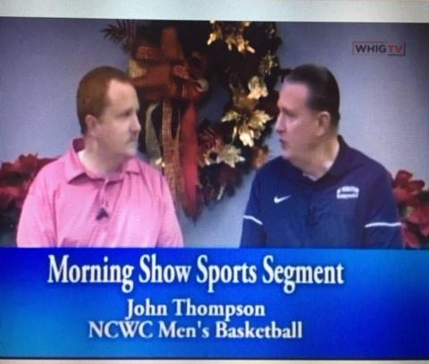 Coach Thompson Featured on Morning Show