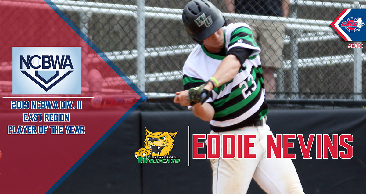 Wilmington's Eddie Nevins Locks Up Second East Region Player-of-the-Year Award in 2019; NCBWA Announced All Region